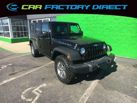 2010 Jeep Wrangler Unlimited Rubicon 4x4 Navigation